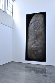 This is a photo I took awhile back when visiting DIA Beacon. Artist: Michael Heizer. Photo: Mark A. Perry sculptor