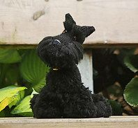 Scottish Terrier: free live like crochet pattern