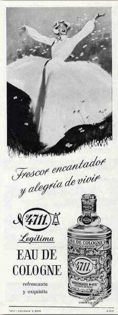Glockengasse No.4711 Cologne Spanish Language (1960)