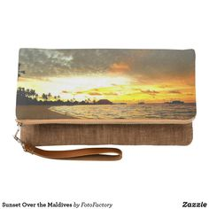 Sunset Over the Maldives Clutch