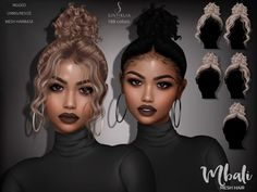 Grooming Curly Hair The Sims 4 Tips Updos and braids hairstyle Grooming Curly Hair The Sims 4 Tips Updos and braids hairstyle Hair The Sims 4, Sims 4 Curly Hair, Sims 4 Black Hair, The Sims 4 Skin, Sims 4 Teen, Sims Four, Sims Cc, Curly Hair Styles, Curly Hair Care
