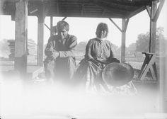 Maidu couple – 1890