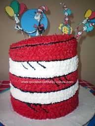 Cat in the hat cake!!!