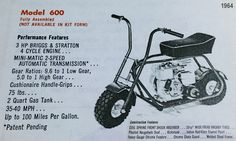 1964 LiL Indian 600 Ad
