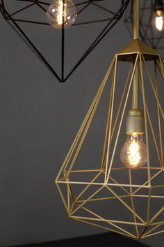 Via NordicDays.nl | Dutch Design: Diamond Lamp by Pols Potten