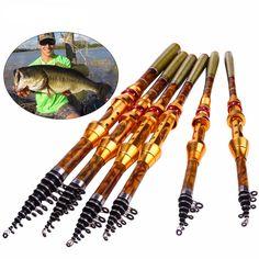 Telescopic Fishing Rod //Price: $16.52 & FREE Shipping //     #freshwater #fishingtrip #flyfishing