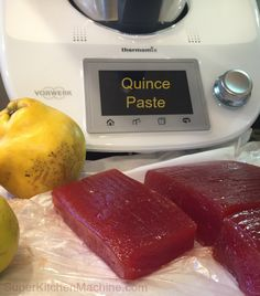 How to make Thermomix Quince Paste at home with TM5 and Tm31: find out why Thermomix is the ideal tool for making this seductive cheese board complement.