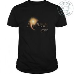 TOTAL SOLAR ECLIPSE 2017 TSHIRT TeeChip Shirts, Ladies Tee, Guys Tee, Hoodie