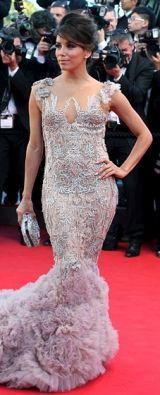 Cannes glamor from Ms. Eva Longoria