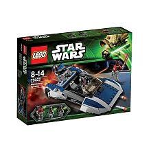 Lego Star Wars - Speeder Mandalorien - 75022  - marque : Lego Rends-toi au point de rendez-vous avec le Mandalorian Speeder LEGO Star Wars avec une figurine du traître Sith Lord Darth Maul avec des pattes mécaniques.Prépare la prise de pou... prix : 32.99 €  chez Toys R us #Lego #ToysRus