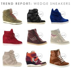 Trend Report: Wedge Sneakers and How to Wear Them | Hellobee