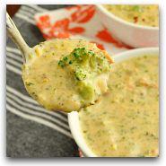 Veggie Loaded Baked Potato Soup... in the Crock-pot!