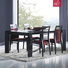 Sala de Jantar lacado | Santarem - ALB Mobiliário e Decoração - Paços de Ferreira - Capital do Móvel