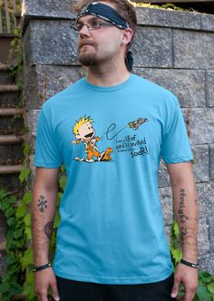 Calvin & Hobbes Inspired - I'm a Leaf on the Wind Watch How I Soar - Wash…