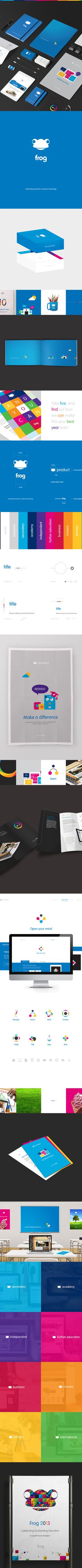 Frogtrade by Samuel James Oxley, via Behance | #stationary #corporate #design #corporatedesign #identity #branding #marketing < repinned by www.BlickeDeeler.de | Take a look at www.LogoGestaltung-Hamburg.de