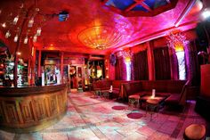 One of the coolest bars is the Artesian. It's got the strangest drinks on offer and a very colourful vibe. Photo by Design My Night