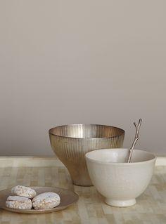 Premium-Wandfarbe. Braun, graubraun: Alpina Feine Farben DÄCHER VON PARIS