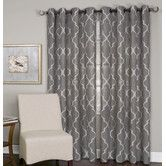 Found it at Wayfair - Medalia Single Window Curtain Panel
