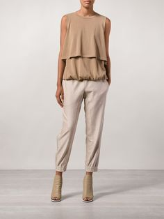 Brunello Cucinelli Layered Tank Top - Mario's - Farfetch.com