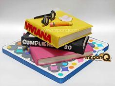 Torta de libros. Mr.ponQ