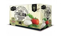 Buy Mad Millie - Italian Cheese Kit online and save! Mozzarella, ricotta, mascarpone and more from your kitchen! The Italian Cheese Kit provides you with everything you need to whip up these Italian fav. Wine Hampers, Food Hampers, Italian Cheese, Brewing Equipment, Quirky Gifts, Experience Gifts, Presents For Men, How To Make Cheese, Ale
