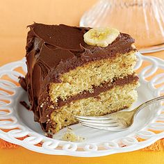 Chocolate-Covered Banana Cake (costs less than 20 cents to make!) #recipe