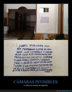 CÁMARAS INVISIBLES - Lo último en cámaras de seguridad   Gracias a http://www.cuantarazon.com/   Si quieres leer la noticia completa visita: http://www.estoy-aburrido.com/camaras-invisibles-lo-ultimo-en-camaras-de-seguridad/