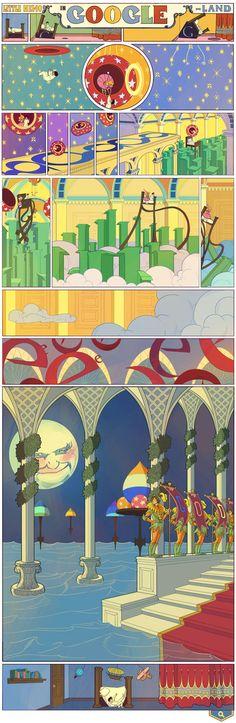 Il doodle di Google è per Little Nemo di Winsor McCay