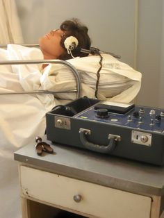Electroconvulsive therapy is used to treat depression, but in the past was used for just about everything.
