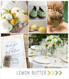Lemon + Mint Wedding Inspiration