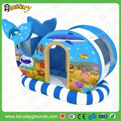 Electric Whales Rocker_kid's zone indoor soft playground equipment