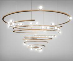 Luxury Chandelier, Luxury Lighting, Custom Lighting, Interior Lighting, Chandelier Lighting, Modern Lighting, Lighting Design, Chandeliers, Luminaire Design