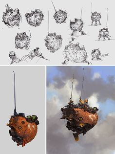 Discover how to turn sci-fi sketches into incredible images with Ian McQue (www.facebook.com/ianmcque/) in Digital Painting Techniques: Volume 4!
