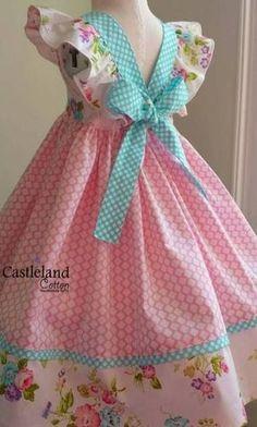 Baby Girl Party Dresses, Little Dresses, Little Girl Dresses, Nice Dresses, Trendy Dresses, 50s Dresses, Elegant Dresses, Baby Dress Design, Baby Girl Dress Patterns