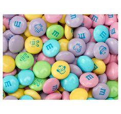 Pastel M&Ms Candy - Plain: 56-Ounce Bag