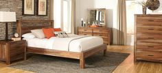 King Platform Bed Furniture near Tempe, AZ Beautiful wood platform bed frame. Find this and other home decor options at Phoenix Furniture Outlet. Find this and other home decor options at Phoenix Furniture Outlet. Rustic Platform Bed, Platform Bed Sets, Platform Bedroom, King Platform Bed, King Bedroom, Bedroom Sets, Bedroom Decor, Master Bedroom, Wood Bedroom