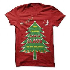 Pround Santa T Shirts, Hoodies. Get it now ==► https://www.sunfrog.com/Holidays/Pround-Stanta-Red-Guys.html?41382 $25