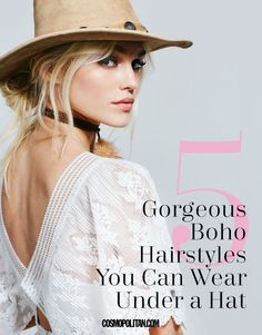 5 Gorgeous 5-Minute Hairstyles You Can Wear Under a Hat