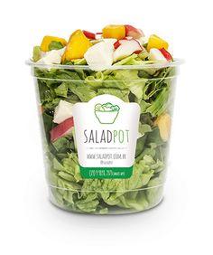 Saladas no pote - várias opções