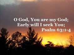 Good Morning from Trinity,Texas  Today is Sunday March 2, 2014 Day 61 on the 2014 Journey  Make It A Great Day, Everyday! Find Joy in the Fellowship of God Today's Scriptures: Psalm 63:1-4 (New King James Version) O God, You are my God; Early will I seek You; My soul thirsts for You; My flesh longs for You In a dry and thirsty land Where there is no water. So I have looked for You in the sanctuary, To see Your power and Your glory.,,,