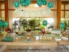 Chá de bebe verde - leao