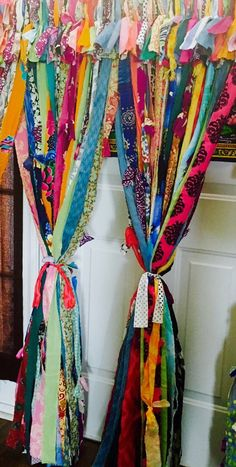 Boho Curtains by IslandChickDesigns on Etsy