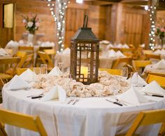 Rustic Wedding Table Centerpieces - Wedding and Bridal Inspiration