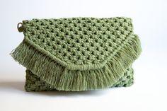 Makrame -käsilaukku / EKOTAR Design - EKOTAR Design Beanie, Hats, Design, Fashion, Moda, Hat, Fashion Styles, Beanies