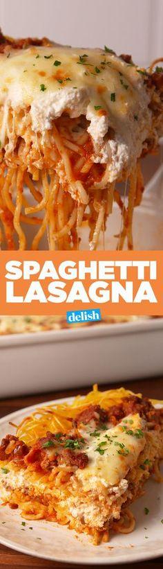 Spaghetti LasagnaDelish