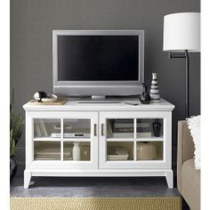 Artists designers living room decorate console crate and barrel media cabinet white in stands consoles seguro . crate and barrel media cabinet console Entertainment Furniture, Diy Entertainment Center, Crate And Barrel Tv Stands, Espresso Tv Stand, Living Room Designs, Living Room Decor, Living Area, Living Rooms, Tv Decor