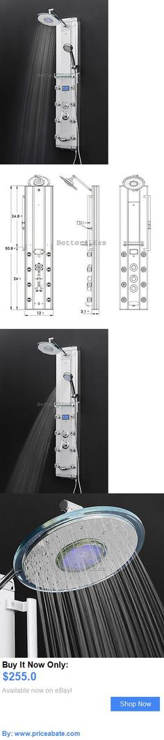 Massagers: Bathroom Aluminum Shower Tower Head Tub Spout Panel Rainfall Style BUY IT NOW ONLY: $255.0 #priceabateMassagers OR #priceabate