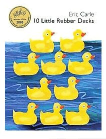 10 little rubber ducks- counting/art I can think of a lot of things to do with 20 rubber duckies lesson