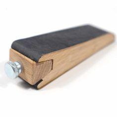 Mini Sanding Wooden Blocks For Leather Edge Finishing Process Sand Paper Fixing Blocks