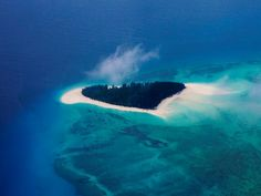 Ten of the world's most amazing islands. This heart-shaped tropical beauty is Mnemba Island :) Most beautiful thing ever